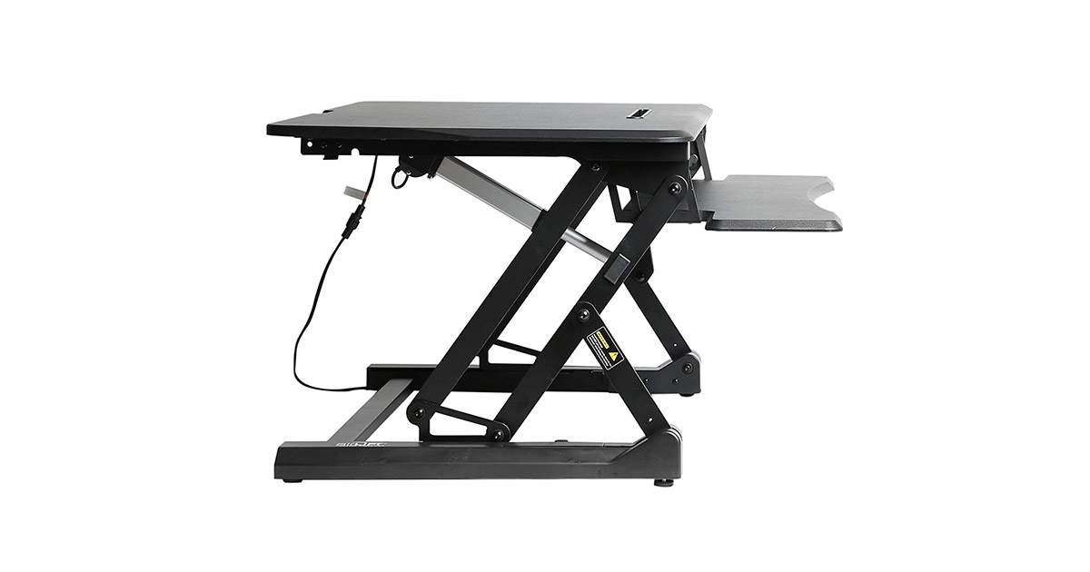 Seville Classics airLIFT 36″ OFF65806 Standing Desk Review 2020